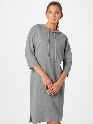 OPUS Knitted dress 'Wolers' in Grey