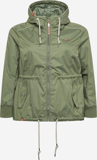 Ragwear Plus Prehodna jakna 'DANKA' | oliva barva, Prikaz izdelka