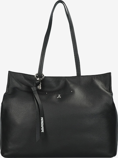 PATRIZIA PEPE Borsa Shopper Tasche Leder 41 cm in schwarz, Produktansicht