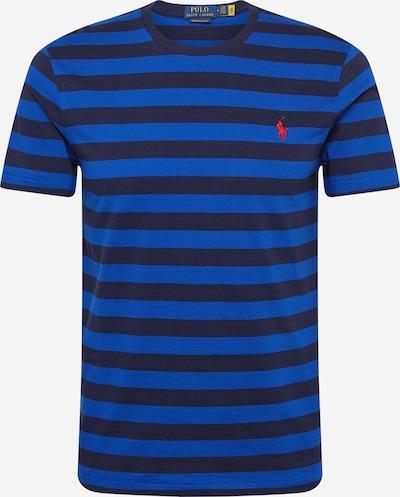 Marškinėliai iš POLO RALPH LAUREN , spalva - mėlyna / tamsiai mėlyna / raudona, Prekių apžvalga