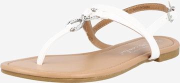 NEW LOOK Sandale in Weiß