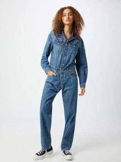 REPLAY Jumpsuit in blau, Modelansicht
