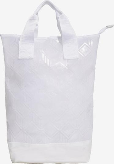 ADIDAS ORIGINALS Rucksack in weiß: Frontalansicht