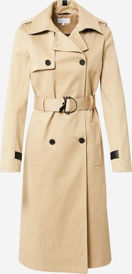 Palton de primăvară-toamnă PATRIZIA PEPE pe maro cămilă / negru, Vizualizare produs