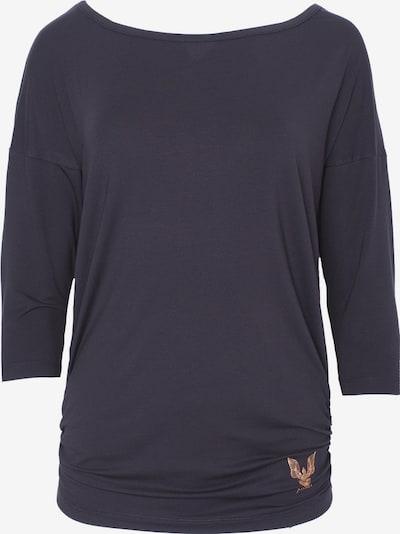 Kismet Yogastyle Sweatshirt in rosegold / dunkelgrau, Produktansicht