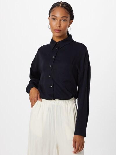 Someday Bluse 'Zericela' in navy, Modelansicht