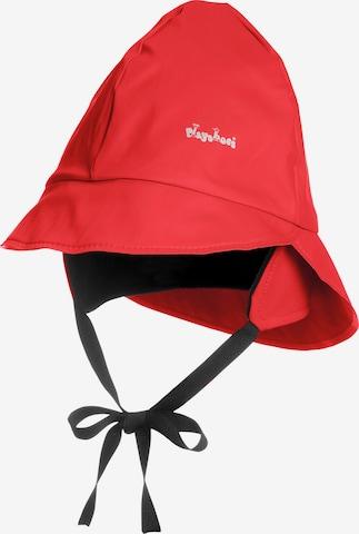 PLAYSHOES Regenmütze in Rot