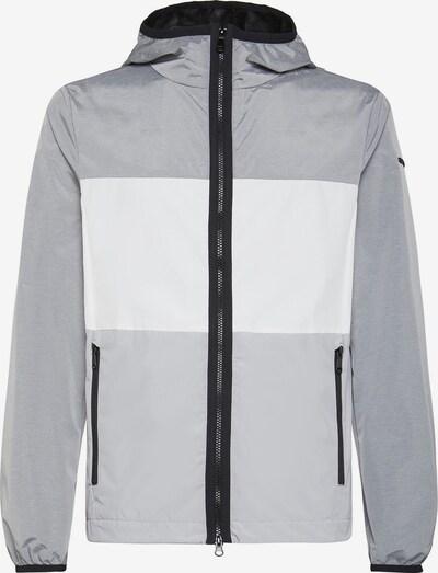 GEOX Tussenjas in de kleur Grijs / Zwart / Wit, Productweergave