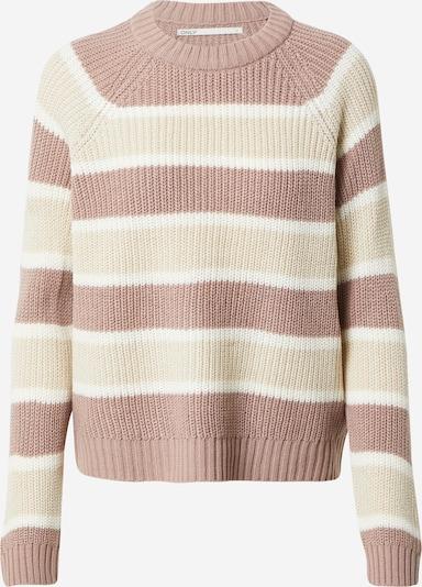 Pullover 'SOOKIE' ONLY di colore beige / rosé / bianco, Visualizzazione prodotti