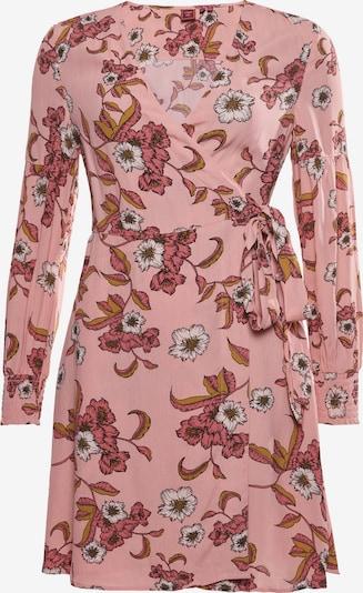 Superdry Dress 'Bohemian' in Light brown / Pink / Dark red / White, Item view