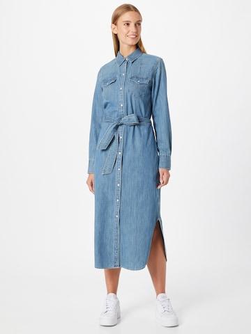 Lauren Ralph Lauren Shirt Dress 'DERREK' in Blue