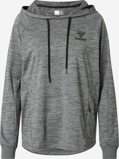 Hummel Athletic Sweatshirt in mottled grey / Black, Item view