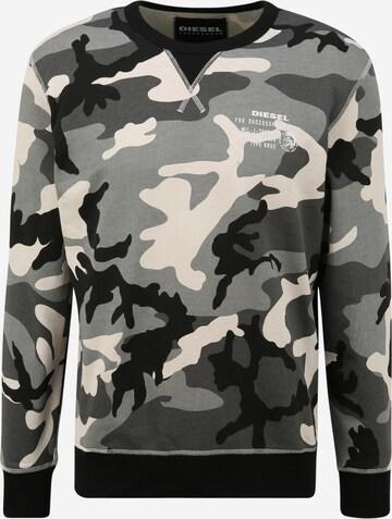 DIESEL Sweatshirt 'Willy' in Grau