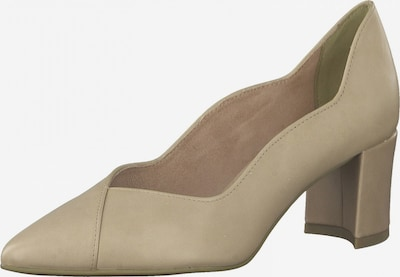 MARCO TOZZI Pumps in beige: Frontalansicht