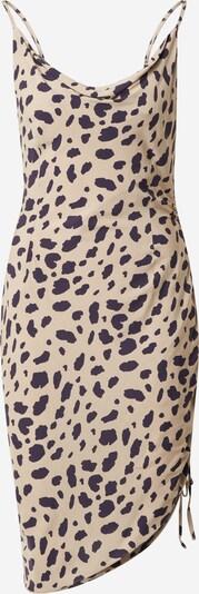 NA-KD Šaty - velbloudí / černá, Produkt