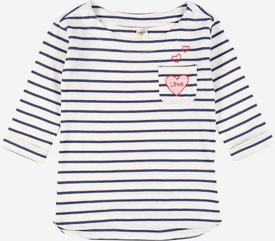 OshKosh Shirt 'VDAY BOATNECK IVORY / NAVY STRIPE' in de kleur Gemengde kleuren, Productweergave