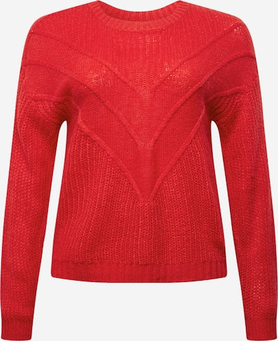 ONLY Carmakoma Pullover 'LIMA' in rot, Produktansicht