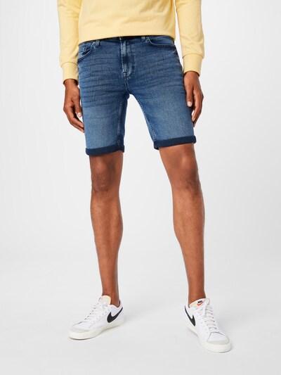 Only & Sons Jeans 'PLY' in de kleur Blauw denim, Modelweergave
