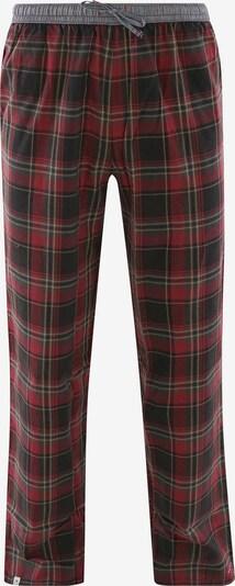 Luca David Pyjamahose ' Olden Glory Pants ' in rot, Produktansicht