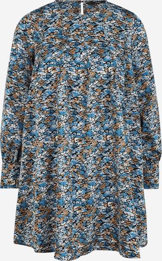 Vero Moda Petite Jurk 'LULU' in de kleur Blauw / Smoky blue / Bruin / Zwart / Wit, Productweergave