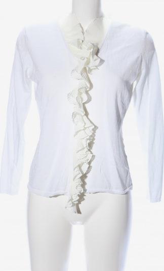 Prestige Elegance Cardigan in L in creme / weiß, Produktansicht