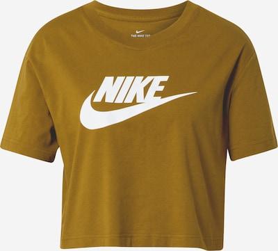 Nike Sportswear Shirt in oliv / weiß, Produktansicht