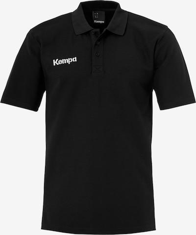 KEMPA Poloshirt in schwarz / weiß, Produktansicht