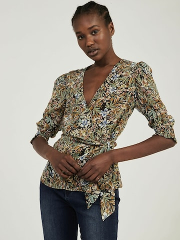 NAF NAF Blouse 'Country' in Green