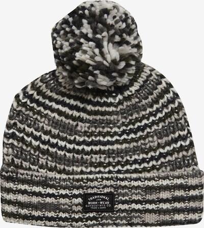 Superdry Mütze in hellgrau / graumeliert, Produktansicht