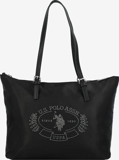 U.S. POLO ASSN. Shopper in hellgrau / schwarz, Produktansicht