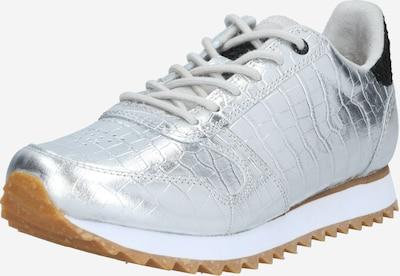 WODEN Sneakers laag 'Ydun Croco Shiny' in de kleur Zilver, Productweergave