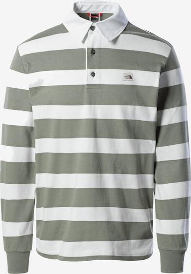 THE NORTH FACE Overhemd in de kleur Olijfgroen / Wit, Productweergave