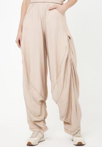 Madam-T Trousers 'POLLI' in Beige