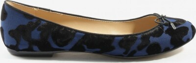 ZARA Klassische Ballerinas in 38 in blau / schwarz, Produktansicht