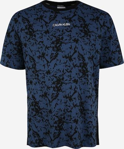 Calvin Klein Shirt in nachtblau / dunkelblau, Produktansicht