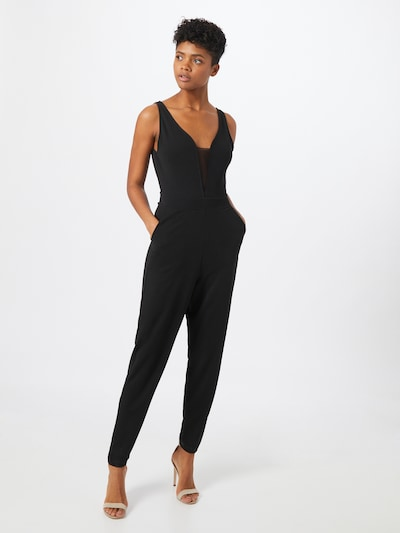 ABOUT YOU Jumpsuit 'Sharon' en negro, Vista del modelo