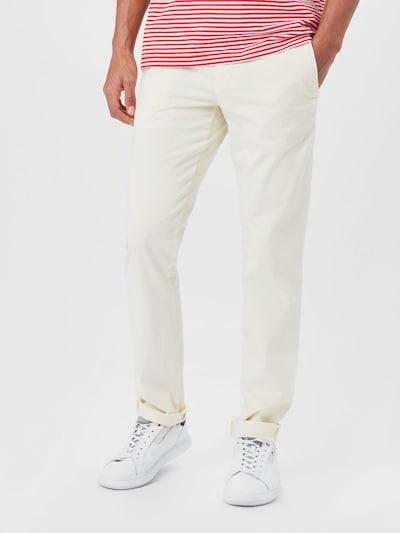 TOMMY HILFIGER Chino hlače   bela barva, Prikaz modela