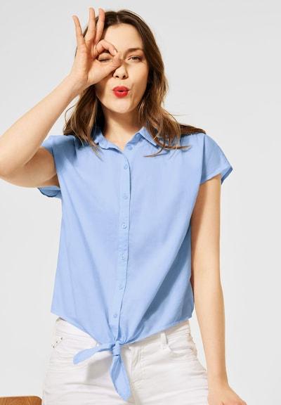 STREET ONE Bluse in hellblau, Modelansicht
