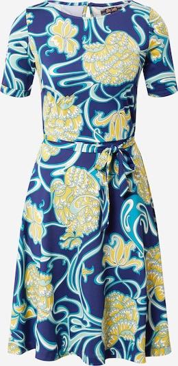 King Louie Рокля 'Betty' в синьо / светлосиньо / жълто / бяло, Преглед на продукта
