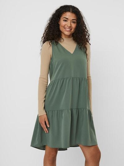 VERO MODA Kleid 'Olivia' in smaragd, Modelansicht