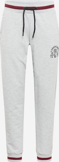 Superdry Spodnie sportowe w kolorze nakrapiany szary / bordowym, Podgląd produktu