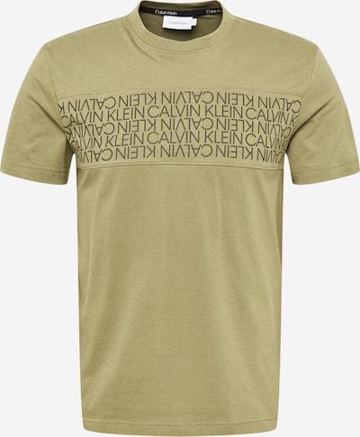 Calvin Klein Shirt in de kleur Olijfgroen / Spar, Productweergave