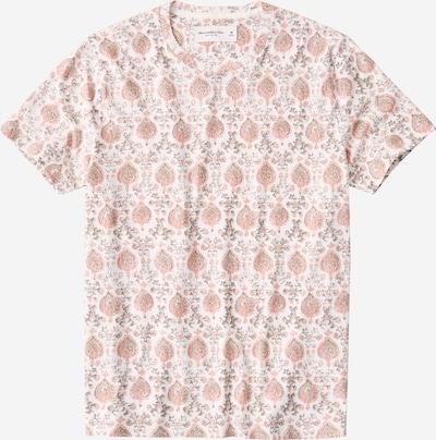 Abercrombie & Fitch Shirt in de kleur Rosa / Wit, Productweergave