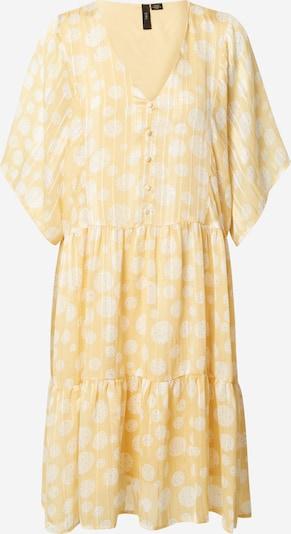 Y.A.S Robe d'été 'Camela' en jaune / blanc, Vue avec produit