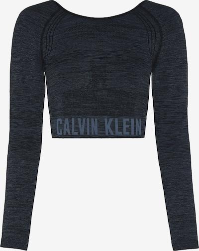 Calvin Klein Performance Funktsionaalne särk hall / meleeritud must, Tootevaade