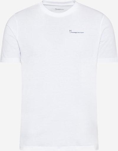KnowledgeCotton Apparel Shirt 'ALDER' in dunkelblau / rot / weiß, Produktansicht