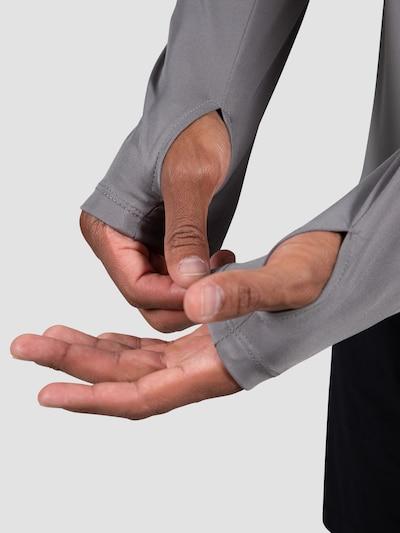 MOROTAI Funktionsshirt in grau / weiß, Produktansicht
