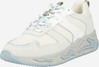 PS Poelman Låg sneaker i ljusblå / ljusgrå / vit, Produktvy