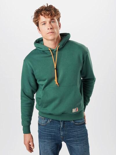 Felpa JACK & JONES di colore verde scuro: Vista frontale