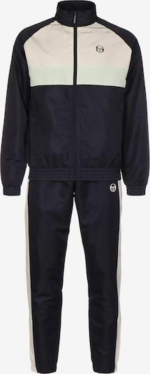 Sergio Tacchini Trainingsanzug 'Ansley' in schwarz / naturweiß, Produktansicht